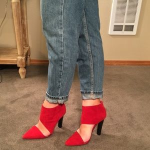 Jeffery Campbell Vintage Red Heels